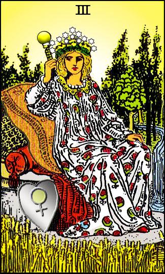 Tarotkarte-03-Empress