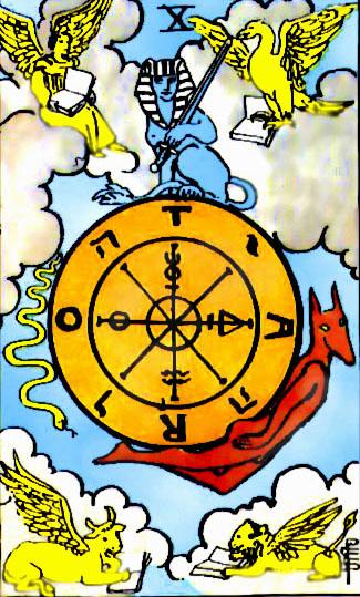 Tarotkarte-10-Wheel_of_Fortune